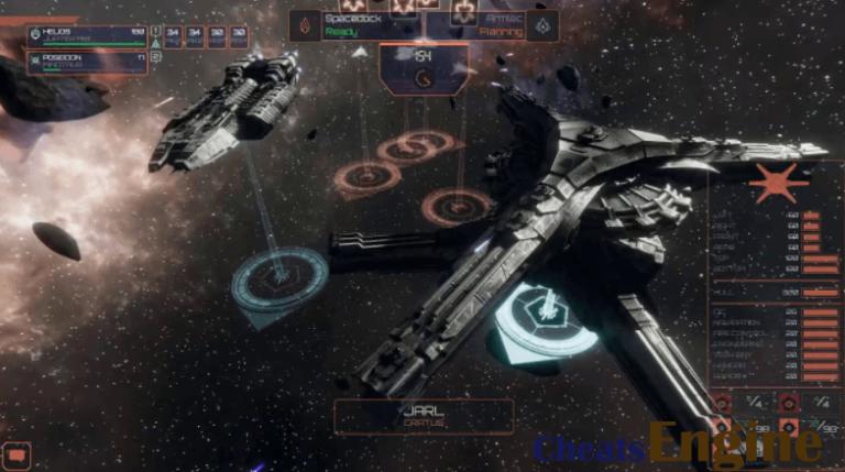 Battlestar Galactica Deadlock Cheat Engine, Cheat table (100% Working)