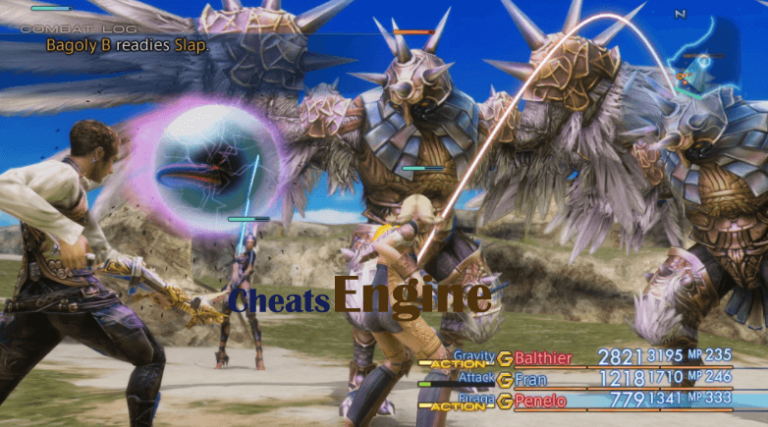 Final Fantasy XII The Zodiac Age +5 Gamepass / Windows Store Cheat Engine, Cheat table (100% Working)