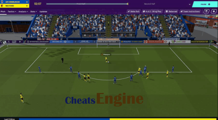 Football Manager 2020 Cheat Engine, Cheat table (100% Working)
