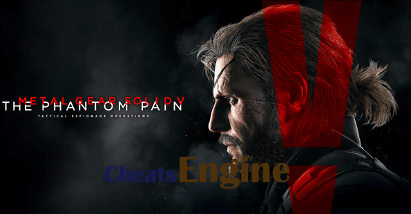 Metal Gear Solid V: The Phantom Pain Cheat Engine, Cheat table (100% Working)